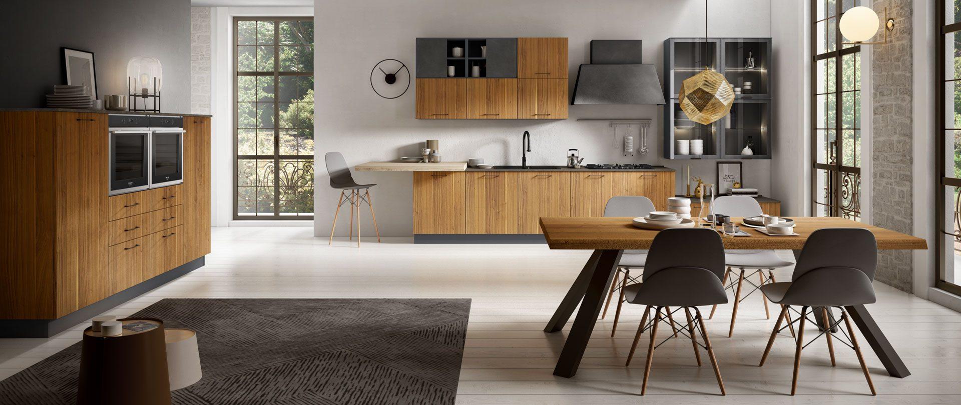 Cucina funzionale è la nuova nata in casa Mobilturi: Matrix
